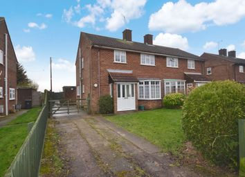 Thumbnail 3 bed semi-detached house for sale in Long Ley, Langley Upper Green, Saffron Walden