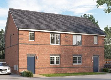 "Thumbnail 3 bed semi-detached house for sale in ""The Queensbridge"" at Alfreton Road, South Normanton, Alfreton"