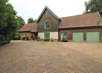 Thumbnail 5 bed country house to rent in Norwich Road Scoulton, Norwich
