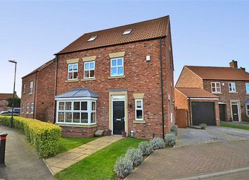 Thumbnail 4 bedroom detached house for sale in Station Rise, Riccall, York