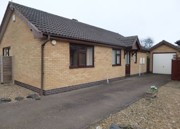 Thumbnail 3 bedroom detached bungalow for sale in 3 Runnymead Gardens, Glenfield, Leicester.