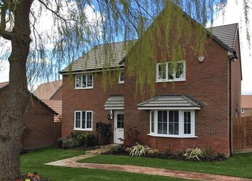 "Thumbnail 4 bed detached house for sale in ""Knightsbridge"" at Stanley Close, Corby"