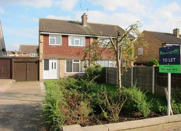 Thumbnail 3 bed semi-detached house to rent in Davidson Close, Arnold, Nottingham