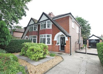 Thumbnail 3 bedroom semi-detached house for sale in St. Georges Crescent, Salford