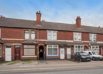 Thumbnail 2 bed terraced house for sale in Shobnall Road, Burton-On-Trent