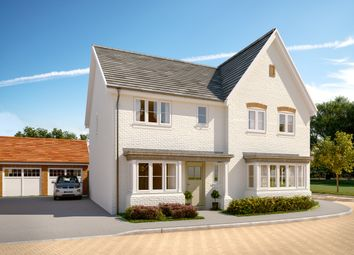 Thumbnail 3 bed semi-detached house for sale in The Lulworth, Willowbrook, Elmbridge Road, Cranleigh, Surrey