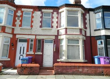 Thumbnail 3 bed terraced house to rent in Bowley Road, Liverpool, Merseyside