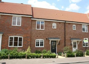 Thumbnail 3 bed terraced house to rent in Warren Avenue, Saxmundham, Suffolk