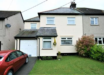 Thumbnail 3 bed semi-detached house for sale in Moreton Road, Ongar