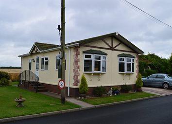 Thumbnail 2 bed mobile/park home for sale in Warren Park, Stoke-On-Tern