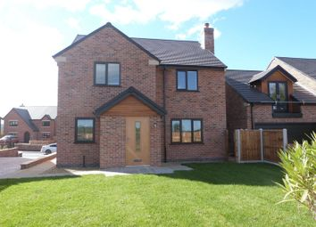 Thumbnail 4 bed detached house for sale in Buxton Road, Congleton, Cheshire