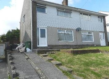 Thumbnail Semi-detached house to rent in Heol Mwyrdy, Beddau, Pontypridd