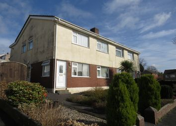Thumbnail 2 bed maisonette for sale in Crossway, Plympton, Plymouth