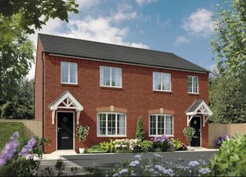 Thumbnail 3 bed semi-detached house for sale in Ashtree Gardens, Burton Road, Ashby De La Zouch, Leicestershire