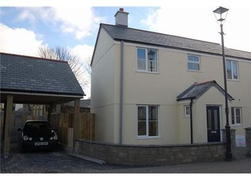 Thumbnail 2 bed semi-detached house for sale in St. Michaels Way, Roche, St. Austell