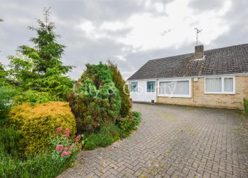 Thumbnail 3 bed semi-detached bungalow for sale in Topham Crescent, Thorney, Peterborough