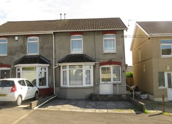 Thumbnail 3 bed semi-detached house for sale in St Pauls Terrace, Garden Village, Swansea