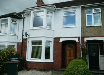 Thumbnail 3 bed terraced house to rent in William Bristow Road, Cheylesmore, Coventry