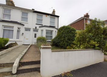 Thumbnail 2 bed end terrace house to rent in Athelstan Road, Hastings