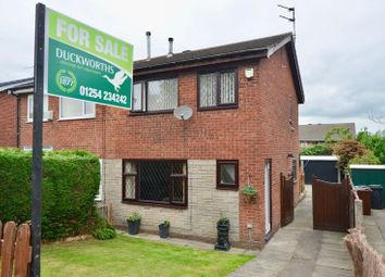 Thumbnail 3 bed semi-detached house for sale in Wordsworth Road, Oswaldtwistle, Accrington
