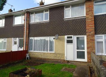 Thumbnail 3 bed terraced house to rent in Penmaen Walk, Michaelston, Cardiff.