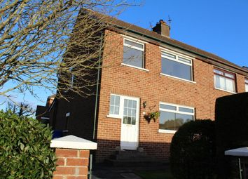 Thumbnail 3 bed semi-detached house to rent in Gortgrib Drive, Belfast