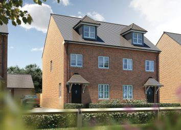 "Thumbnail 3 bed semi-detached house for sale in ""The Chastleton"" at Oakley Wood Road, Bishops Tachbrook, Leamington Spa"