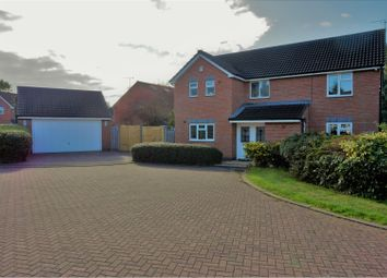 Thumbnail 4 bed detached house for sale in Astill Close, Leicester