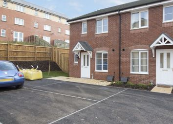 Thumbnail 3 bed semi-detached house to rent in Copper Grove, Rogerstone, Newport