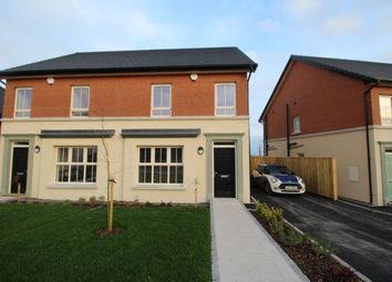 Thumbnail 3 bed semi-detached house to rent in Lynn Hall Place, Bangor