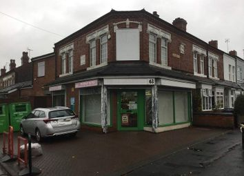 Thumbnail Retail premises for sale in Avenue Road, Kings Heath, Birmingham