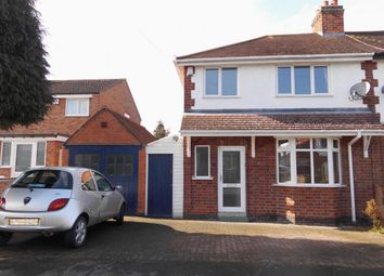 Thumbnail Semi-detached house for sale in The Meadway, Birstall, Leicester