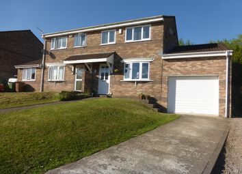 Thumbnail 3 bed semi-detached house for sale in Brynawel, Caerphilly