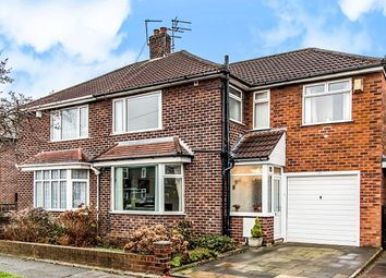 Thumbnail 4 bed semi-detached house for sale in Penarth Road, Northenden, Manchester