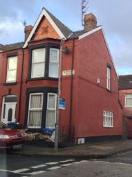 Thumbnail 3 bed end terrace house to rent in Alderson Road, Wavertree, Liverpool
