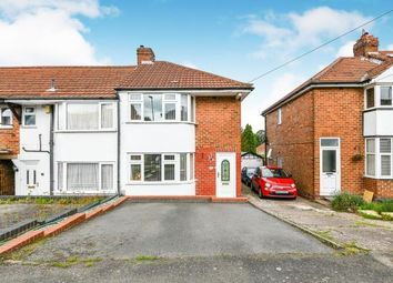 Thumbnail 2 bed end terrace house for sale in Nuthurst Road, Northfield, Birmingham, West Midlands