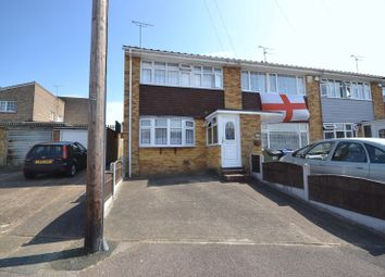 Thumbnail 3 bed end terrace house for sale in Burton Close, Corringham, Stanford-Le-Hope