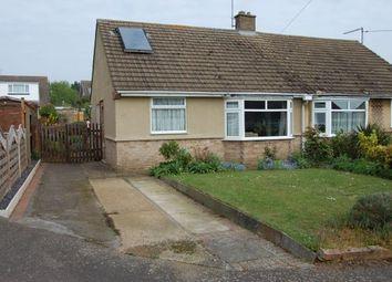 Thumbnail 2 bedroom semi-detached bungalow for sale in St Lukes Close, Spratton, Northampton