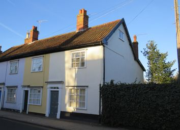 Thumbnail 2 bed end terrace house for sale in Mount Street, Diss