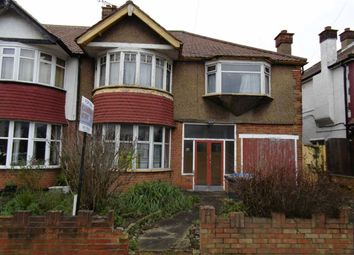 Thumbnail 4 bed semi-detached house for sale in Park Avenue North, Willesden Green