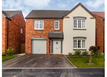 Thumbnail 4 bed detached house for sale in Cotton Drive, Newark