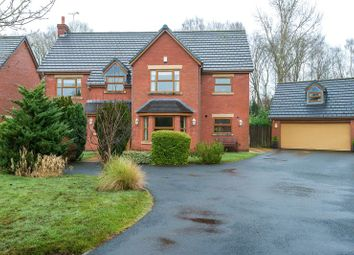 Thumbnail 6 bed detached house for sale in Deerwood Gardens, Standish, Wigan