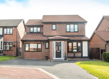 Thumbnail 4 bed detached house for sale in Canonsfield Close, North Walbottle, Newcastle Upon Tyne
