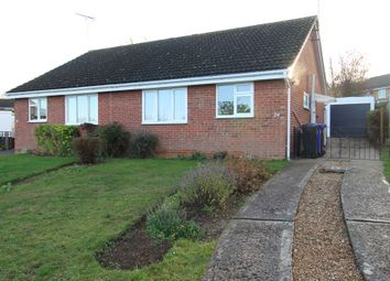 Thumbnail 2 bed semi-detached bungalow to rent in Gedge Close, Bury St. Edmunds