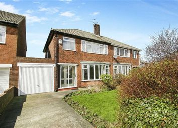 Thumbnail 3 bed semi-detached house for sale in Neasdon Crescent, Tynemouth, Tyne And Wear