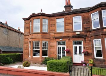Thumbnail 3 bed end terrace house for sale in Second Avenue, Glasgow