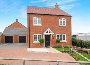 Thumbnail 4 bed detached house for sale in Kelmarsh Avenue, Raunds, Wellingborough