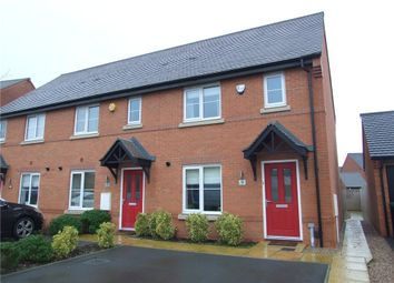 Thumbnail End terrace house for sale in Warwick Close, Littleover, Derby
