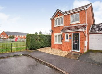 3 bed link-detached house for sale in Pershore Drive, Branston, Burton-On-Trent DE14
