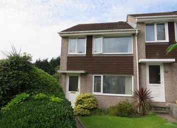 Thumbnail 3 bed end terrace house for sale in Hawthorns, Saltash